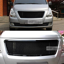 Bentley Style Black Front Radiator Hood Mesh Grille for HYUNDAI 2018 Starex i800