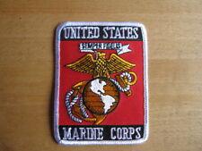 USMC Marine Corps Insignia Patch US Army Marines Seals Semper Fi WW2 WK2 WWII