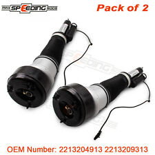 2 Front Air Suspension Spring Struts Shock Fit Mercedes W221 S320 S400 S550 S600