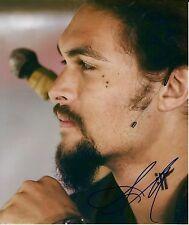 Jason Momoa signed photo - Aquaman Justice League, Game of Thrones