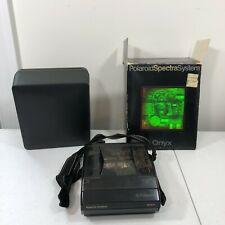 Polaroid Spectra ONYX- Special Edition- Transparent Instant Camera  AS IS