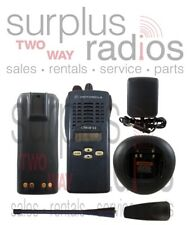 MOTOROLA CT450LS UHF 4W 10CH 450-512MH POLICE FIRE TRUNKING RADIO AAH34SDF9DU5AN