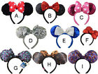 New Disney Parks Minnie Mouse Ears Mickey Headband Christmas Costume Party