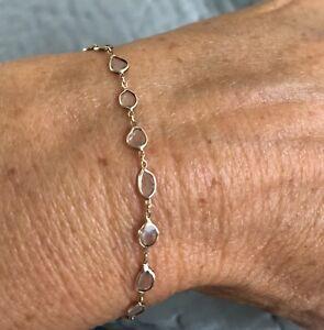 Margaret Solow Diamond Slice Bracelet