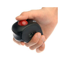 USB Wireless 2.4Ghz Optical Hand-Held Multifunction Mouse with Trackball 1600dpi