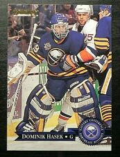 1995-96 95/96 Donruss Hockey #33 Dominik Hasek Buffalo Sabres