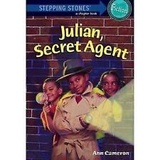 A Stepping Stone Book: Julian, Secret Agent by Ann Cameron (1988, Paperback)