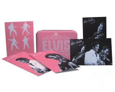 OFFICIAL ELVIS PRESLEY 68 COMEBACK SPECIAL PINK LETTER SET AND STORAGE TIN BOX