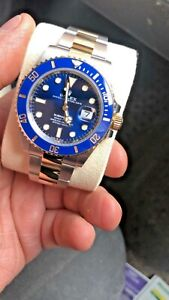 Rolex Submariner 126613LB  Blue 41mm - Unworn Full Set - 2021