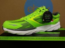 NEW 2014 Skechers Go Run Ride 3 NITE OWL Men's Running Shoes Size 10 Green E19