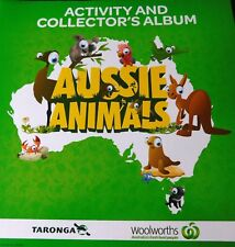 Woolworths Aussie Animal Complete Series Album & All Cards included :0) Preloved