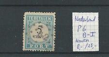 PORT P6B-I  puntstempel 62=Hoorn LUXE VFU/gebr  CV 32,5 €