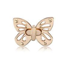 Case Turn Gold Buckle DIY 1PC Butterfly Bag Belt Twist Lock Purse Accessories