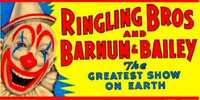 CIRCUS WHISTLING BILLBOARD SELF ADHESIVE STICKER for AMERICAN FLYER TRAINS