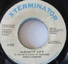 "BERES HAMMOND - Show It Off ~ 7"" Single JA PRESS"