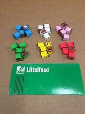 Set of 30: Genuine LittelFuse J Case JCASE 58V 20A 25A 30A 40A 50A 60A AMP