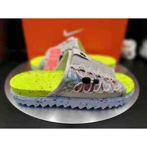 """Nike Asuna Crater Slide """"Volt"""" Men's Size 12 DJ4629-001"""