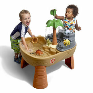 Dino Dig Sand & Water Table by Step2 Kids Childrens Outdoor Play NEW