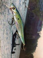 MEGABASS CUSTOM HANDPAINTED JERKBAIT SWIM BAIT FISHING LURE BLUEGILL SHAD