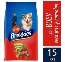 Brekkies Pienso para Perros con Buey y Verduras - 15000 gr 15 kg (15 kg)