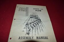 Ford Tractor 142 Moldbord Plow Assembly Manual Chpa