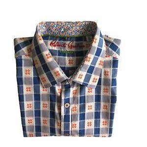 Robert Graham Mens Long Sleeve Classic Fit Shirt Size XL