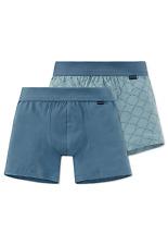 Schiesser Niños hip-retro Shorts 2 Paquete 140 152 164 176 co / EL Calzoncillos