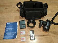 Sony Cyber shot DSC-H9 8.1 MP Digital Camera with Case 15X ZOOM WORKS
