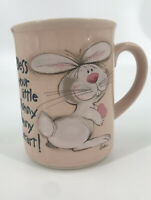 """Message Mugs Vintage """"Bless your little Hunny Bunny heart!"""" George Good"""