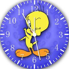 "Tweety Bird wall Clock 10"" will be nice Gift and Room wall Decor E99"