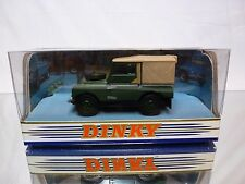 DINKY TOYS DY9 LAND ROVER 1949 - GREEN 1:43 - NEAR MINT IN BOX