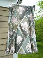 Long Velvet Tulip Hemline Floral Skirt by Tiki , GIRLS size 16