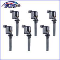 Brand New Set Of 6 Ignition Coils For Mazda MPV 6 Ford Mercury V6 3.0