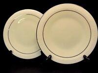 Franciscan China (USA) Moon Glow Gold Trim set of 2 Salad Plates