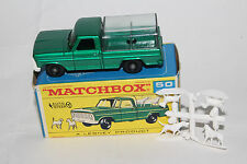 MATCHBOX LESNEY #50C FORD KENNEL TRUCK, WHITE GRILLE, EXCELLENT, BOXED TYPE F