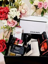 CHANEL makeup skincare perfume samples in giftbox Rouge Allure Laque +more!🌺NEW