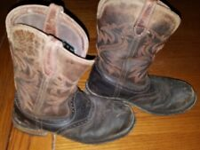 Wolverine Mens Rancher Wpf Soft Toe Wellington W10767 Boot Rust/Brown Sz 9 Ew Us