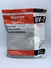 5 Bags Sanitaire BV-3 Backpack SC530,SC535 Premium Allergen Vacuum Cleaner Bags