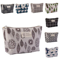 Makeup Bag Cosmetic Storage Pouch Travel Case Wash Portable Toiletry Organizer