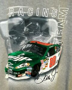 VINTAGE OUTERSTUFF #88 AMP KIDS YOUTH TEE GRAY DALE EARNHARDT JR MEDIUM NWT