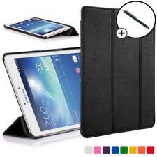 Forefront Carcasas Samsung Galaxy Tab 3 8.0 Funda de Piel Elegante Soporte Lápiz