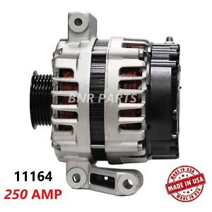 250 Amp 11164 Alternator Chevy Pontiac Saturn High Output Performance HD USA NEW