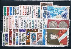 MONACO - Timbres Année 1977 N° 1079 à 1124 Neufs** Coite 102€