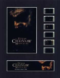 Texas Chainsaw Massacre (2003) 35mm Movie Film Cell 8x10 Matted Display - w/COA