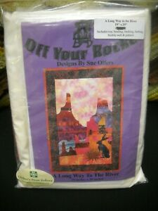 Off Your Rocker Quilt Kit - A Long Way to the River - Unused