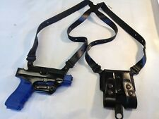 Galco Miami Classic Shoulder Holster, Right H,Black for Glock 45's-10mm # MC228B