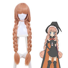 JF-Magical Girl Raising Project Tsubame Murota Top Speed Orange Long Cosplay Wig
