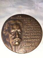 Bronze Medaille,, Albert Schweizer, Deutsche Kriegsgräberfürsorge, Ehrenzeichen,