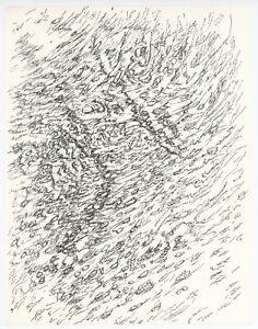 Henri Michaux engraving - 1956