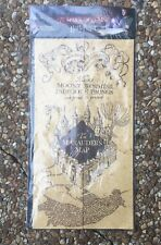 """Harry Potter The Marauders Map Authentic Prop Replica 16"""" X 72"""" Noble Collection"""